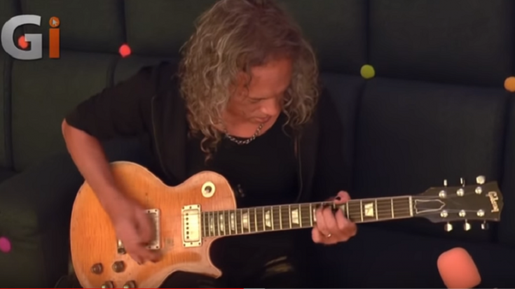 Kirk Hammett Is Working On A Project With Early Fleetwood Mac's Peter Green | Society Of Rock Videos