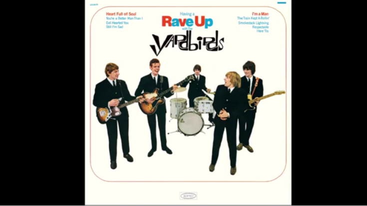 """Album Review: """"Having a Rave Up"""" By The Yardbirds 