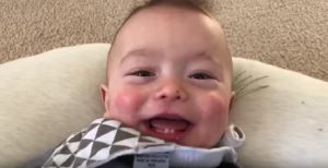 "Baby Covers AC/DC ""Thunderstruck"" – Watch"