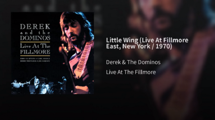 "The Cover Of ""Little Wing"" By Eric Clapton And SRV 
