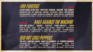 Boston Calling Will Feature Foo Fighters, Rage Against The Machine, & RHCP