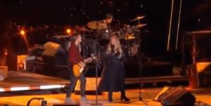 Stevie Nicks Sings Onstage With Keith Urban