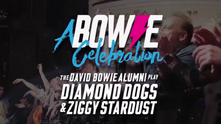 David Bowie Tribute Show Will Feature 'Ziggy Stardust' and 'Diamond Dogs' Complete Versions | Society Of Rock Videos
