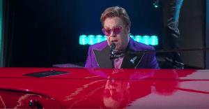 "Watch Elton John Perform ""(I'm Gonna) Love Me Again"" In The 2020 Oscars"