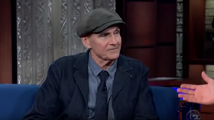 James Taylor Talks About The Moon Landing And Advice For Songwriters