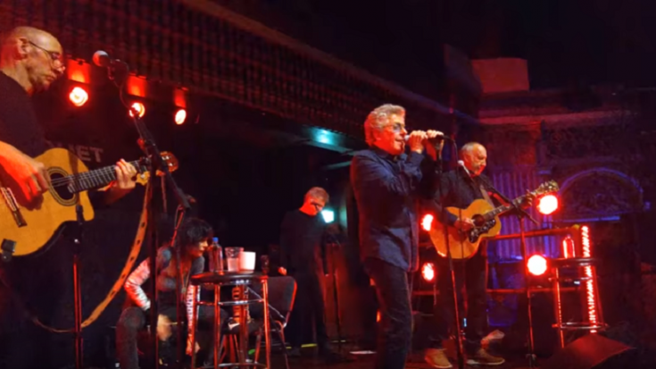 The Who Kick Off Tour With Acoustic Shows | Society Of Rock Videos