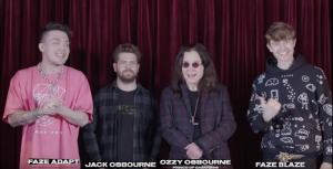 "Ozzy Osbourne Plays ""What's In The Box?"" Challenge With FaZe Clan"