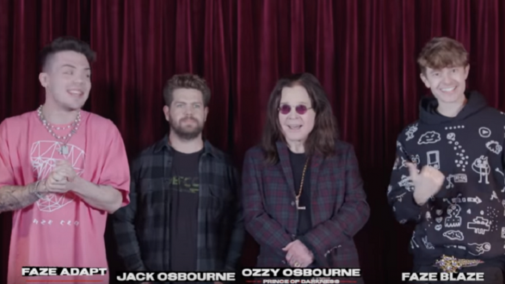 """Ozzy Osbourne Plays """"What's In The Box?"""" Challenge With FaZe Clan 