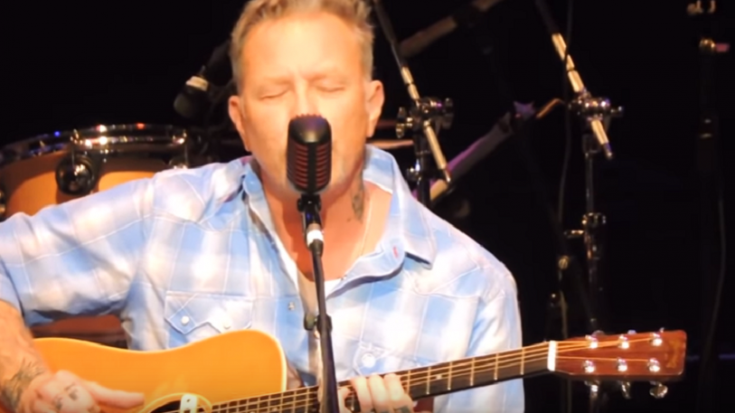 James Hetfield Performs 'Baby Hold On' Cover at Eddie Money Tribute | Society Of Rock Videos