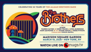 Final Allman Brothers Band Lineup Concert To Be Live Streamed