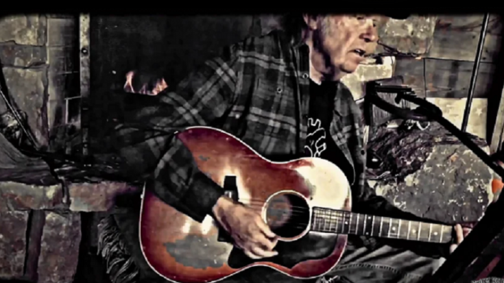Neil Young Streams Fireside Sessions | Society Of Rock Videos