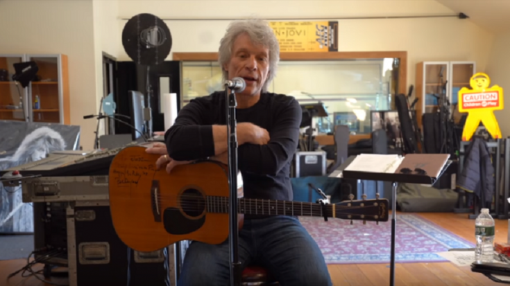 You Can Help Jon Bon Jovi Write A COVID-19 Song | Society Of Rock Videos