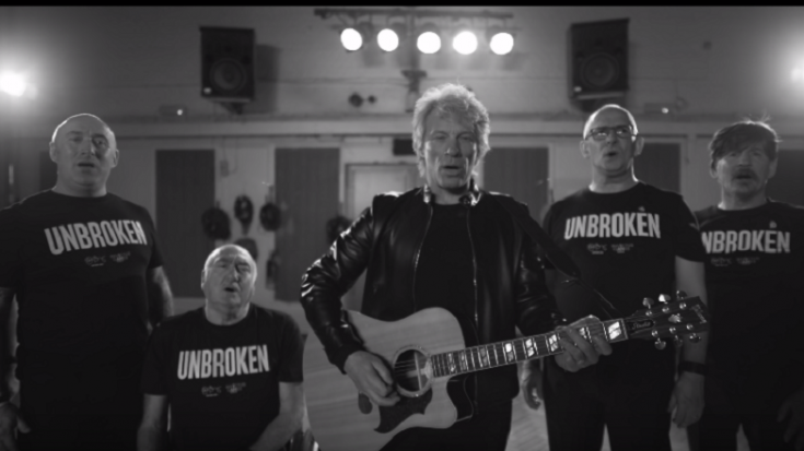 "Bon Jovi Releases New Version Of ""Unbroken"""