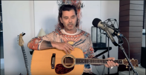 """Gavin Rossdale Performs """"Wild Horses"""" By Rolling Stones"""