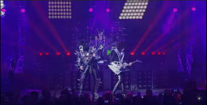 """KISS Supports Tour Crews With """"Stay At Home"""" Shirt Release"""