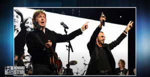 Paul McCartney Talks About Playing With Ringo Starr Onstage