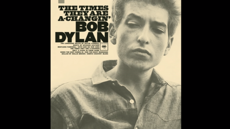 """Bob Dylan's Original Lyrics Of """"The Times They Are A-Changin'"""" Has A $2.2M Price Tag 