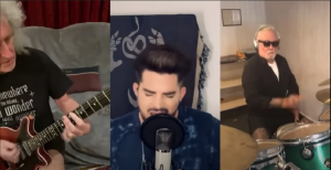 """Queen And Adam Lambert Perform """"We Are The Champions"""" In Lockdown"""