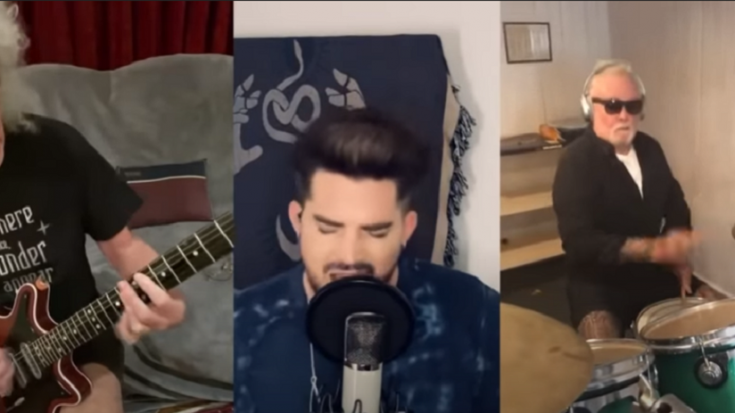 """Queen And Adam Lambert Perform """"We Are The Champions"""" In Lockdown 