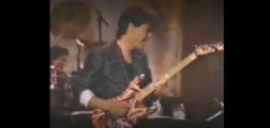 The Story Of The Unplanned Eddie Van Halen SNL Guesting