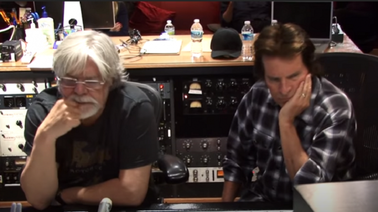 "Relive The Time Bob Seger And John Fogerty Recorded ""Who'll Stop The Rain"" 