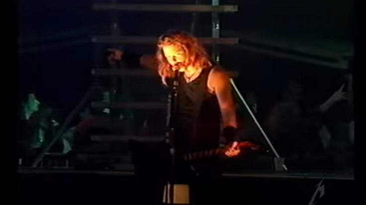 Watch | Metallica Release Video For 1991 Concert During Black Album Tour | Society Of Rock Videos