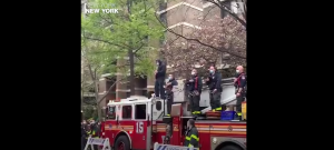 Watch | Firefighter Performs National Anthem On Guitar For Healthcare Workers