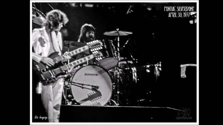 Story | The Story Of Led Zeppelin's Record-Breaking Detroit Concert | Society Of Rock Videos