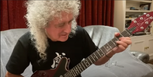 "Brian May Injures Gluteus Maximus From ""Over-Enthusiastic Gardening"""