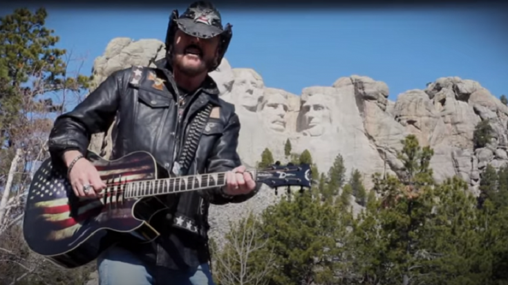 "Ron Keel Covers Lynyrd Skynyrd's ""Red White And Blue"" 