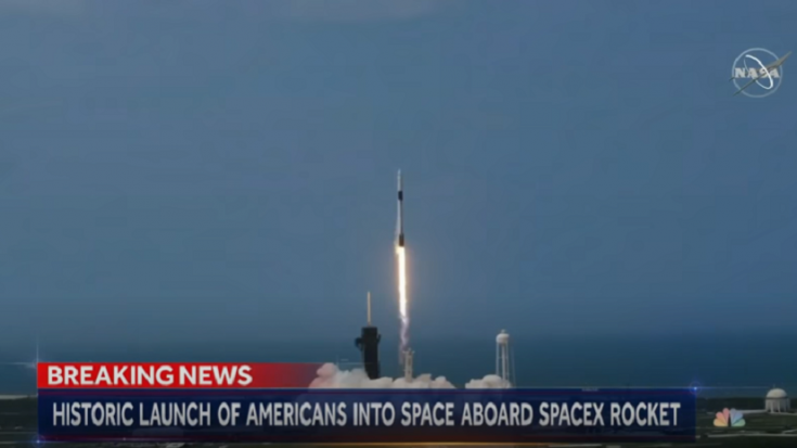 Space X Astronauts Rock Out To AC/DC Before Launch   Society Of Rock Videos