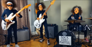 "Ten-Year-Old Nandi Bushell Covers  Rage Against the Machine's ""Guerrilla Radio"""