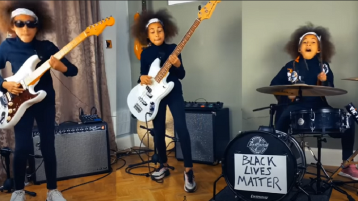 "Ten-Year-Old Nandi Bushell Covers  Rage Against the Machine's ""Guerrilla Radio"" 