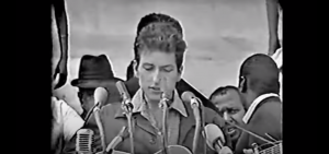 Relive The Time Bob Dylan Performed At The 1963 March on Washington