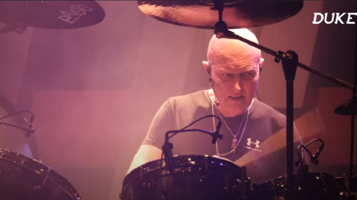 AC/DC Drummer Chris Slade Revisits The Sudden Departure Of Brian Johnson | Society Of Rock Videos