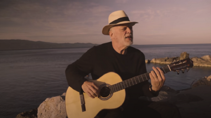 """David Gilmour Released A New Song Called """"Yes, I Have Ghosts"""" 