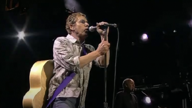 """Watch The Who Perform """"Who Are You"""" Live At The Isle Of Wight Festival 2004   Society Of Rock Videos"""
