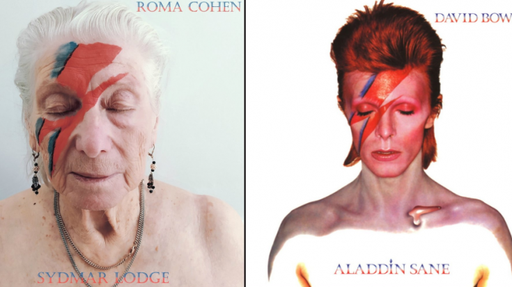 Nursing Home Residents Recreate Classic Album Covers | Society Of Rock Videos