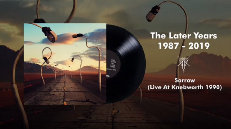 """Pink Floyd Releases 1990 Live Performance Of """"Sorrow"""" From Knebworth 
