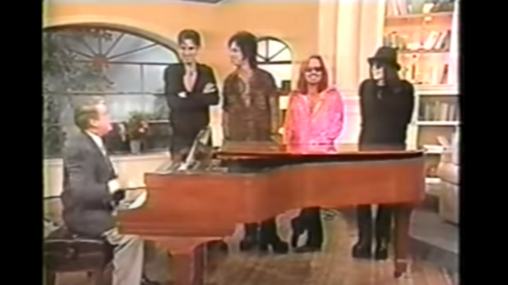 """Relive The Time Regis Philbin """"Auditioned"""" For Mötley Crüe In 1997 