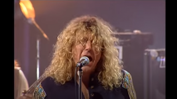 """Watch Led Zeppelin Live Performance Of """"Black Dog"""" In First Reunion 