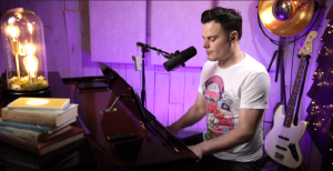 "Watch Marc Martel Cover ""I Want To Break Free"""