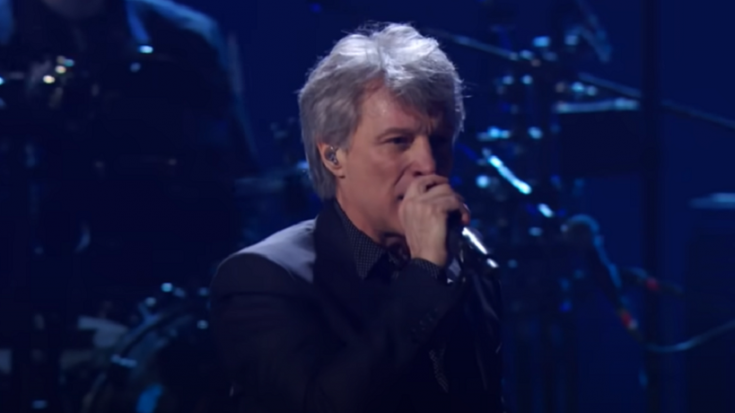 "Watch It Again: Bon Jovi's 2018 Rock & Roll Hall of Fame Performance Of ""Livin' On A Prayer"""