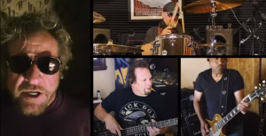"""Watch Sammy Hagar Perform """"Don't Tell Me (What Love Can Do)"""" In Lockdown Sessions"""