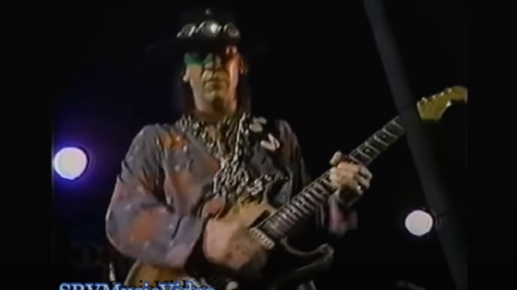 "Watch Stevie Ray Vaughan Cover ""Little Wing"" By Jimi Hendrix In 1983"