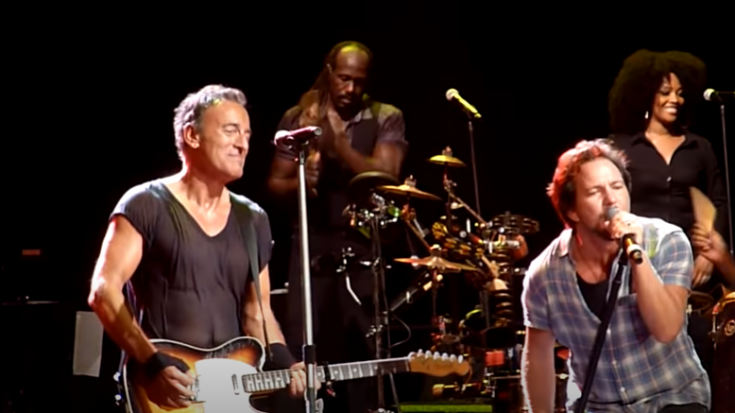 "Watch Bruce Springsteen & Eddie Vedder Cover ""Highway To Hell"" | Society Of Rock Videos"