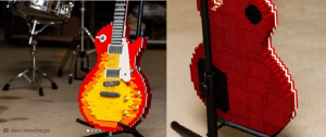 Feast Your Eyes On The Lego Les Paul