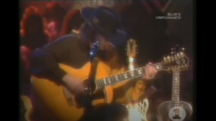 Watch Stevie Ray Vaughan Play Acoustic For MTV Unplugged Back In 1990