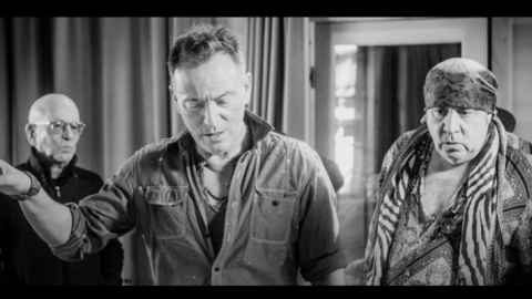 "Bruce Springsteen Releases Video For ""Letter To You"""