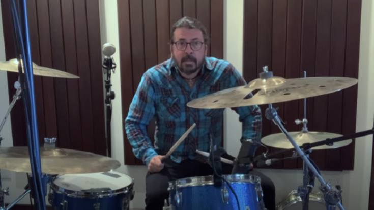 Dave Grohl Releases New Song For 10yr Old  Drummer Nandi Bushell | Society Of Rock Videos